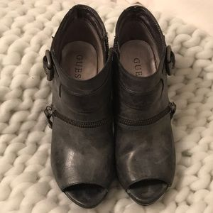 Guess Grey heels
